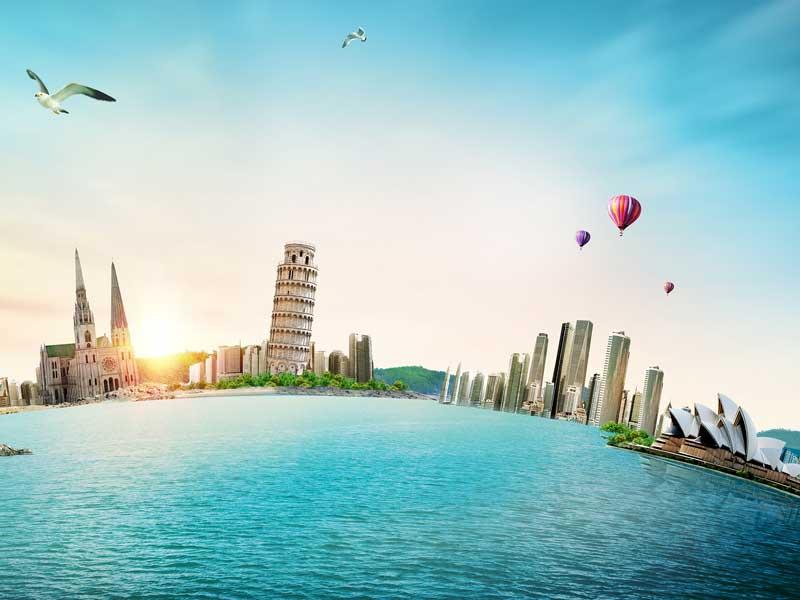 【中国新移民】在意大利科莫湖的云山中等你!